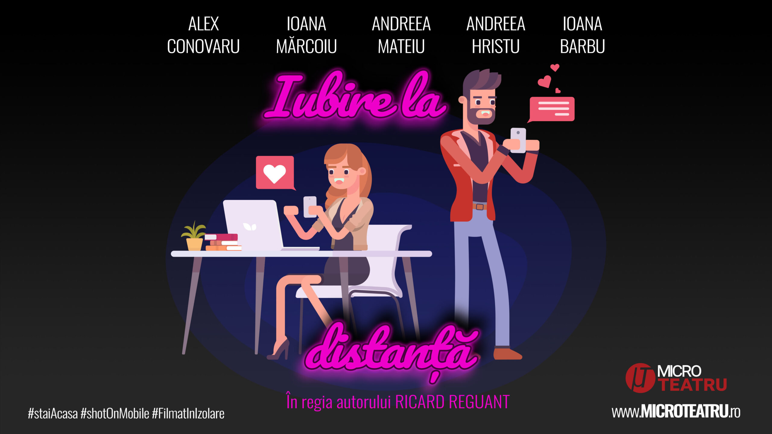 Poster - Iubire la distanta